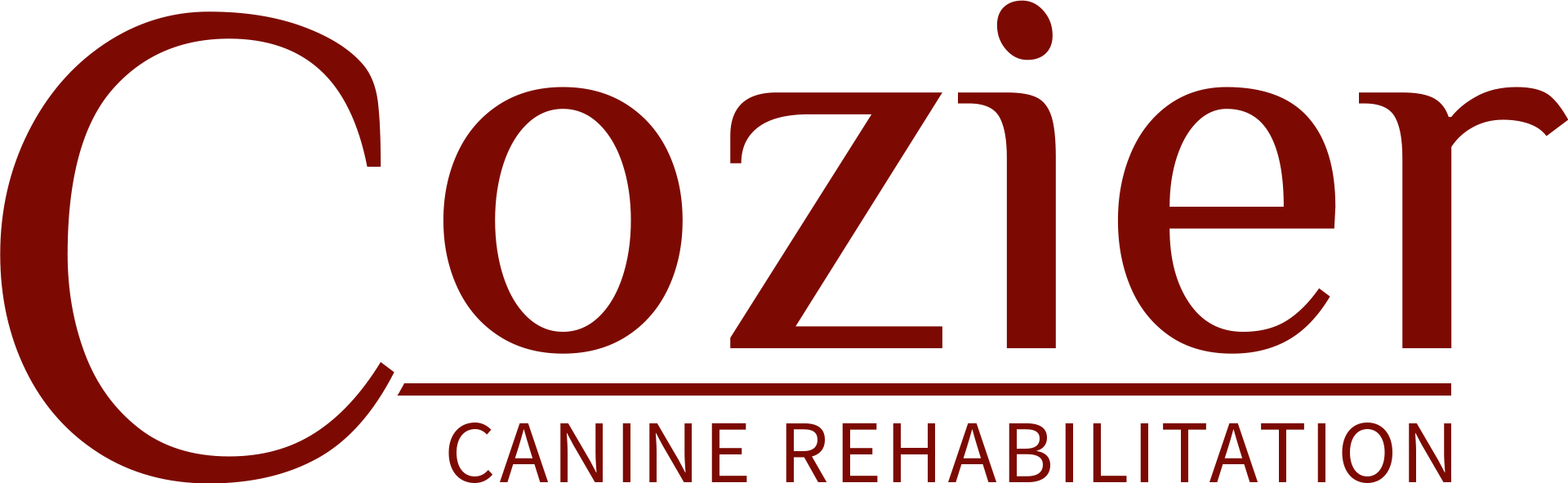 Cozier Canine Rehabilitation logo